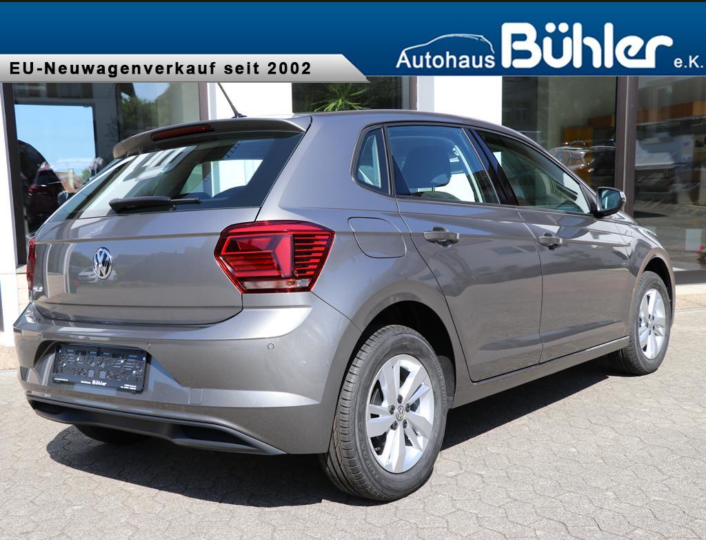 VW Polo 1.0TSI Comfortline - Limestone Grey Metallic