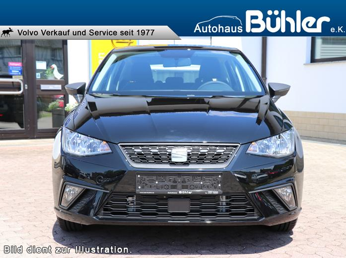 Seat Ibiza Reference - Midnight Schwarz Metallic