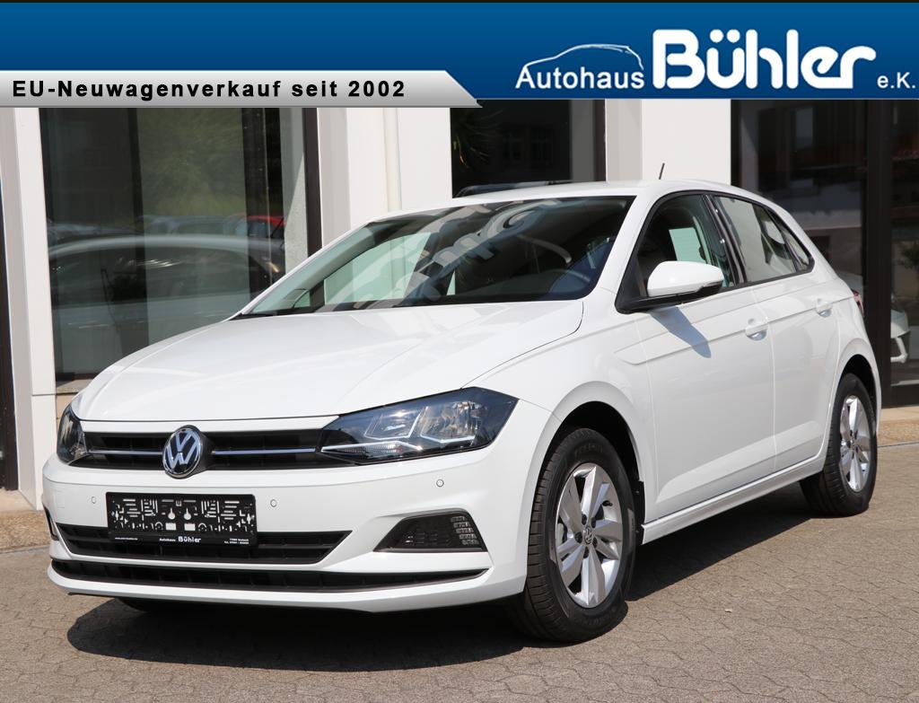 VW Polo 1.0TSI Comfortline - pure white