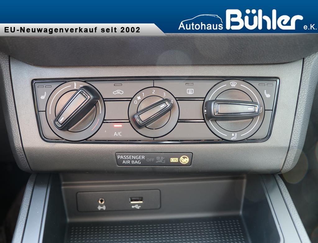 Seat Arona 1.0TSI Reference - Interieur