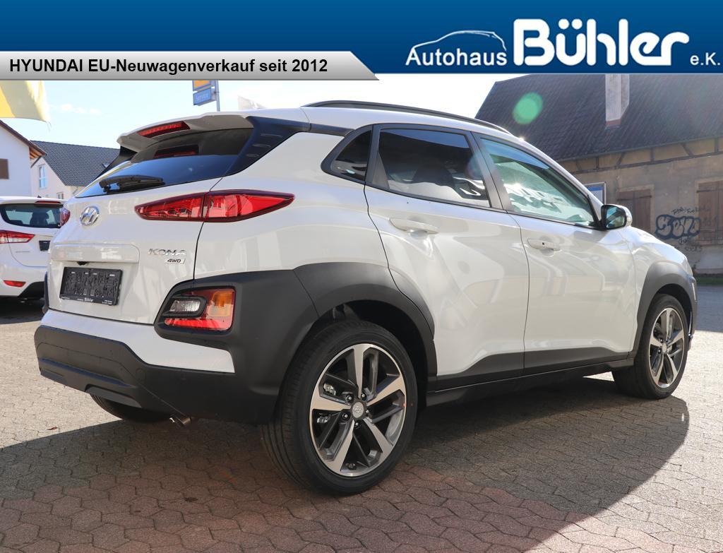 Hyundai Kona 1.6T-GDI DCT 4WD Premium - chalk white
