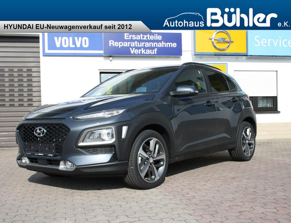 Hyundai Kona 1.6T-GDI - dark knight metallic