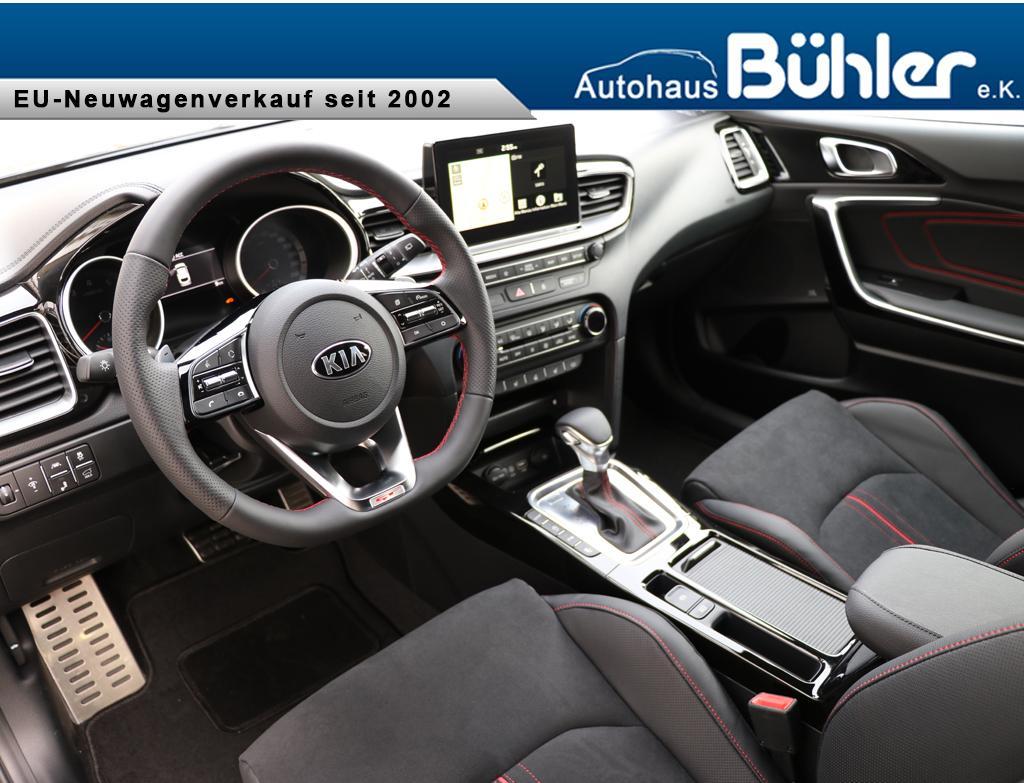 Kia ProCeed 1.6T-GDI DCT-Automatik GT - Zilinaschwarz