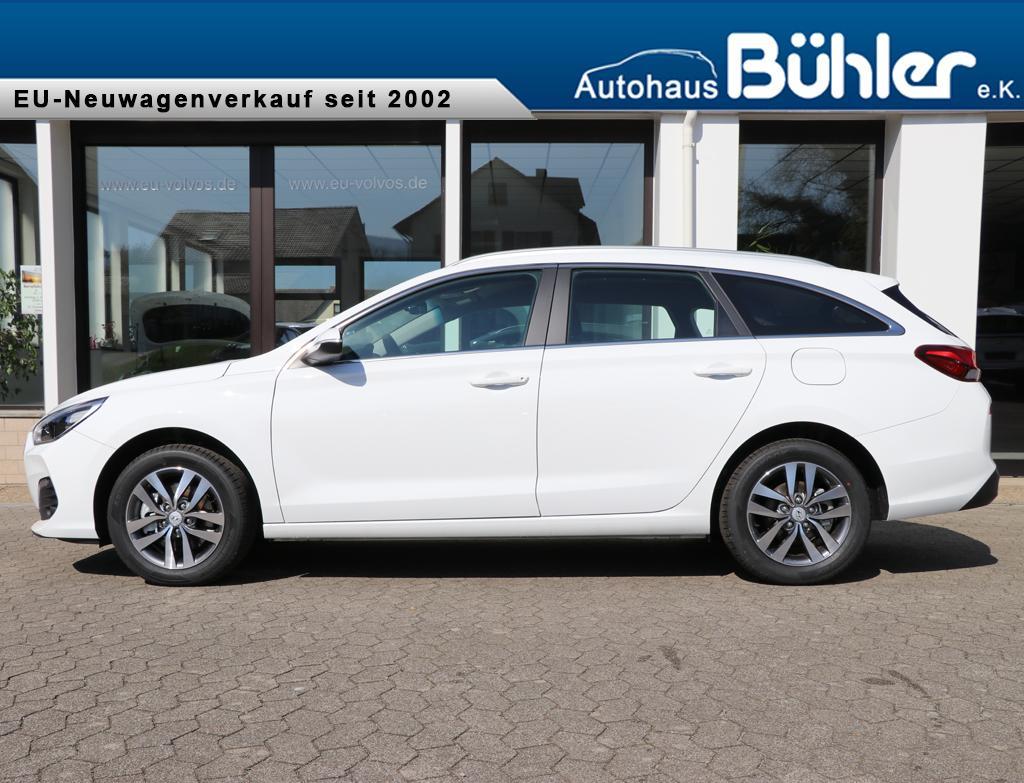 Hyundai i30 Kombi 1.4T-GDI Trend - polar white