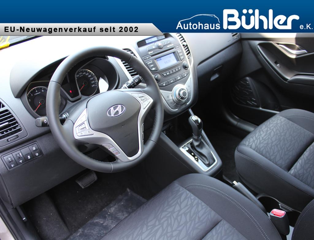 Hyundai ix20 1.6 Automatik Limited Plus - white sand metallic