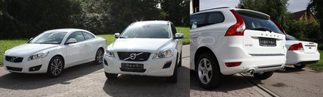 XC60 C70 Front weiss