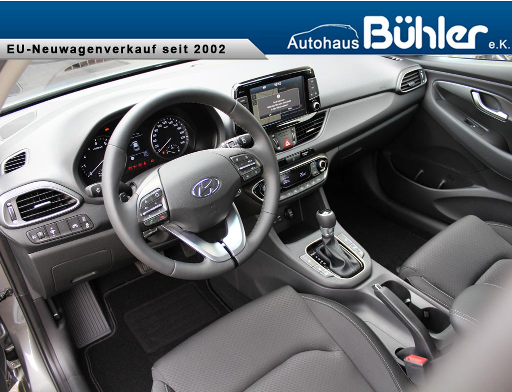 Hyundai i30 Kombi DCT-Automatik Interieur
