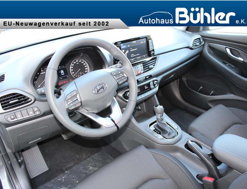 i30 Fastback 1.4 T-GDI DCT Automatik Trend - micron grey