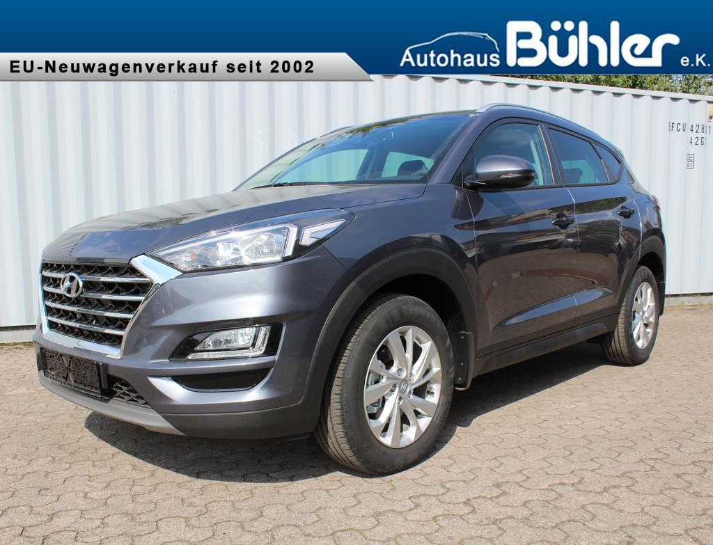 Hyundai Tucson 1.6T-GDI Trend - micron grey metallic