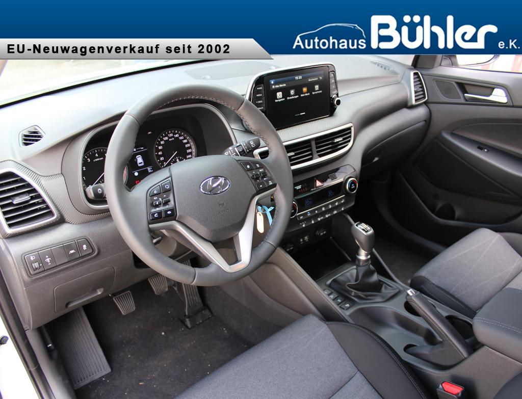 Hyundai Tucson 1.6T-GDI Trend - Interieur