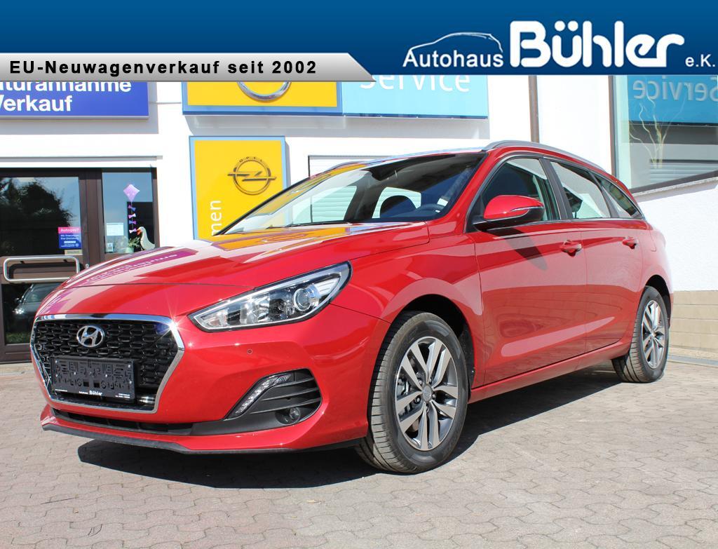 Hyundai i30 Kombi Trend - fiery red metallic