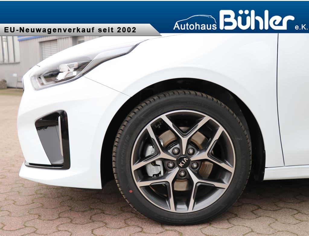 Kia Ceed Kombi 1.4 T-GDI DCT-Automatik GT-Line - Carraraweiß