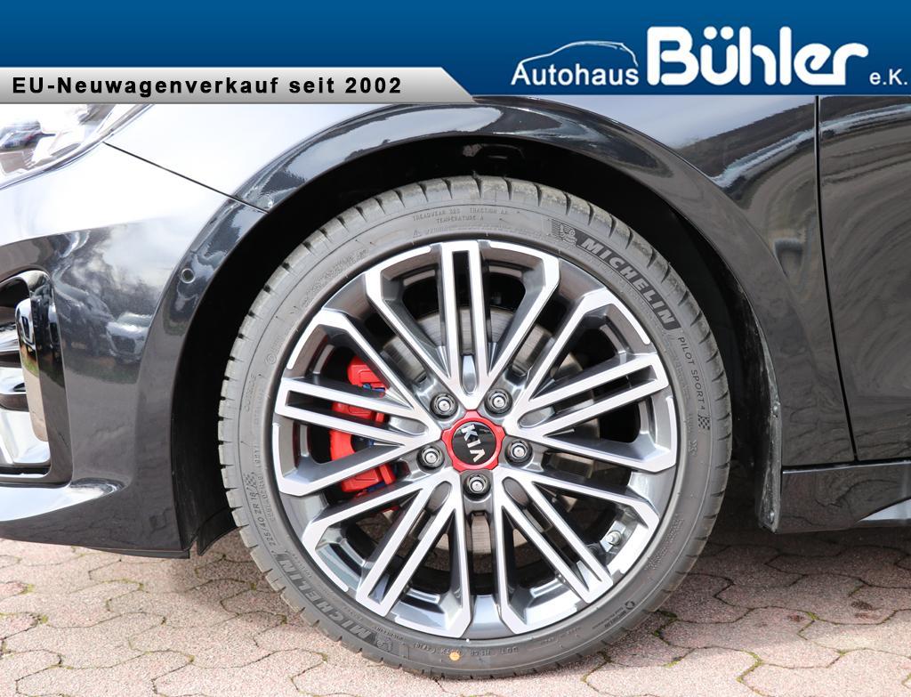 Kia Ceed 1.6T-GDI DCT-Automatik  GT - Zilinaschwarz Metallic