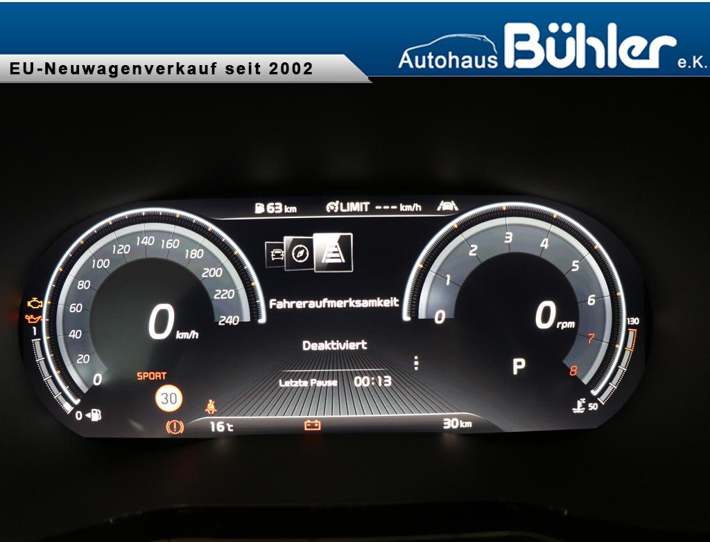 ProCeed GT 2020 1.6 T-GDI DCT-Automatik  - Interieur