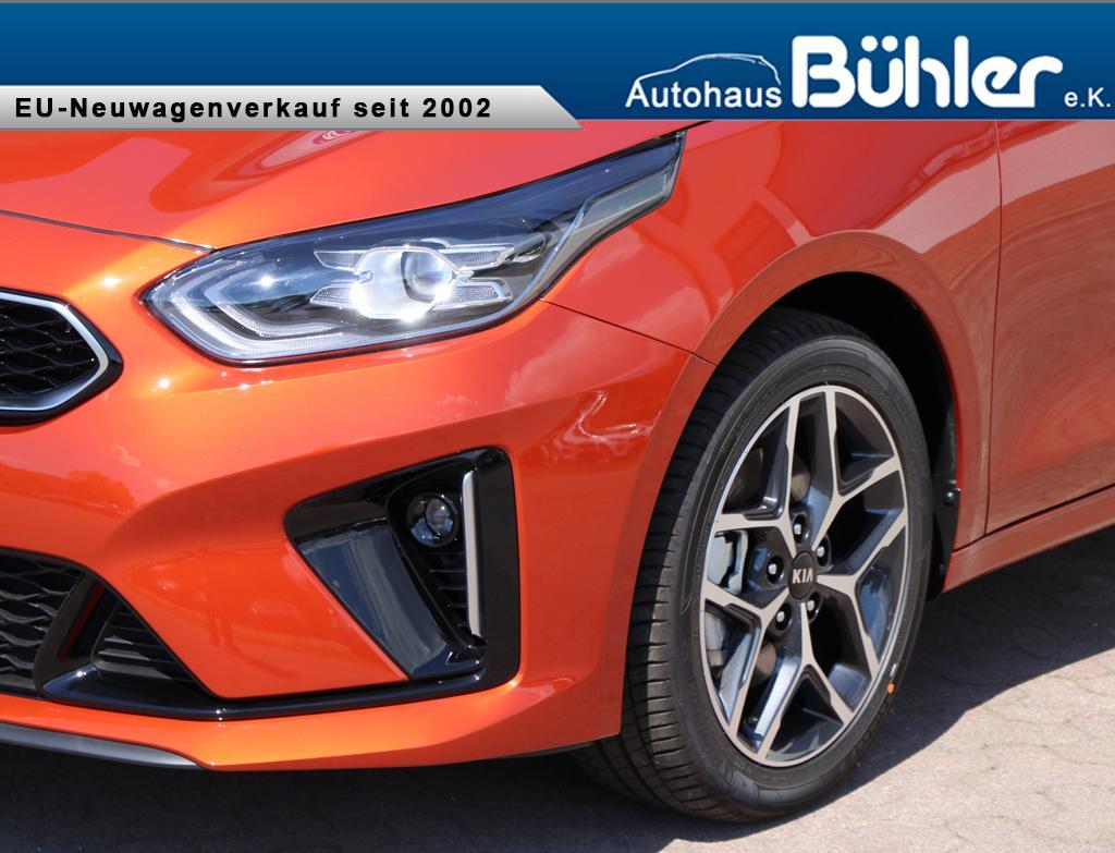 Kia Ceed Sportswagon 1.4T-GDI GT-Line - fusion orange metallic