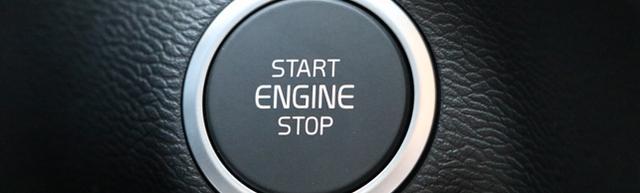 Volvo Startknopf