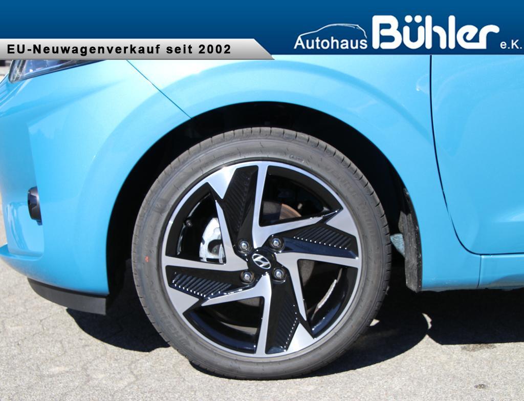 Hyundai i10 1.2 Automatik Premium - Aqua Turquoise Metallic
