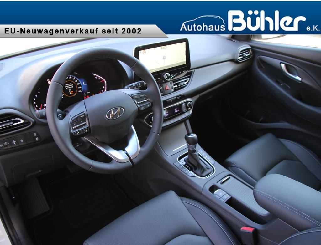 Hyundai i30 Kombi Facelift Interieur DCT