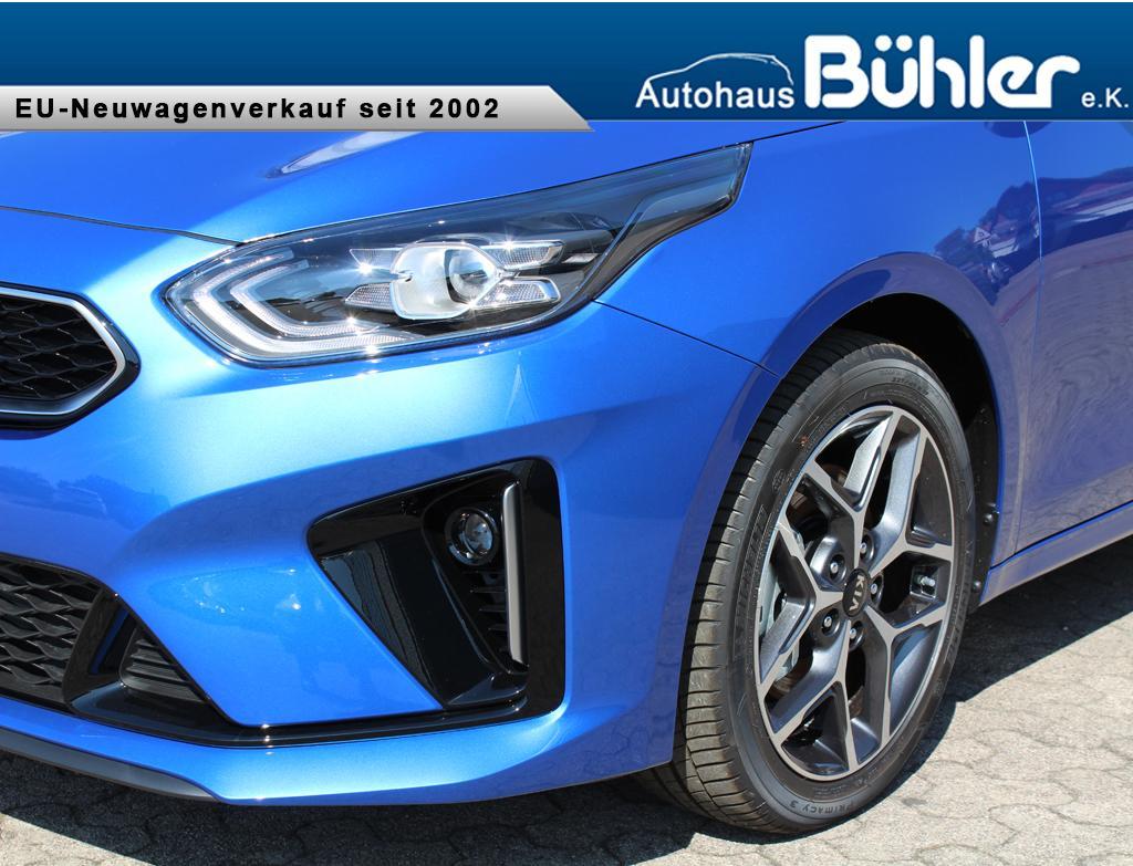 Kia Ceed GT-Line - blue flame metallic