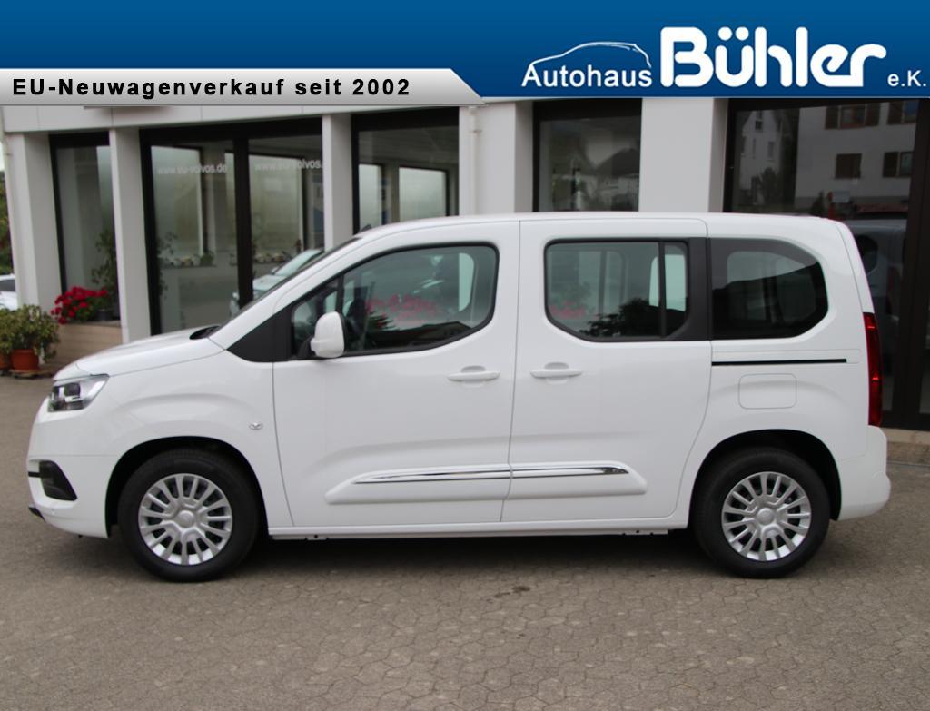 Toyota Proace City Verso Shuttel - Schaumweiß