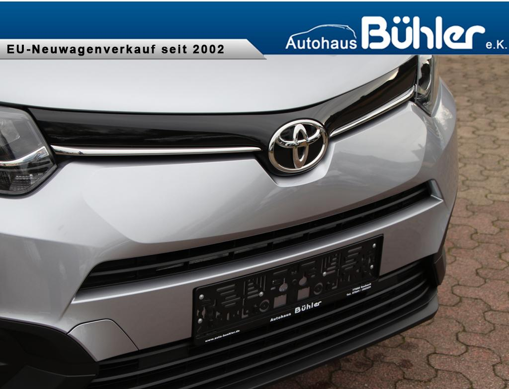 Toyota Proace City Verso Combi 1.2T - bismutsilber metallic