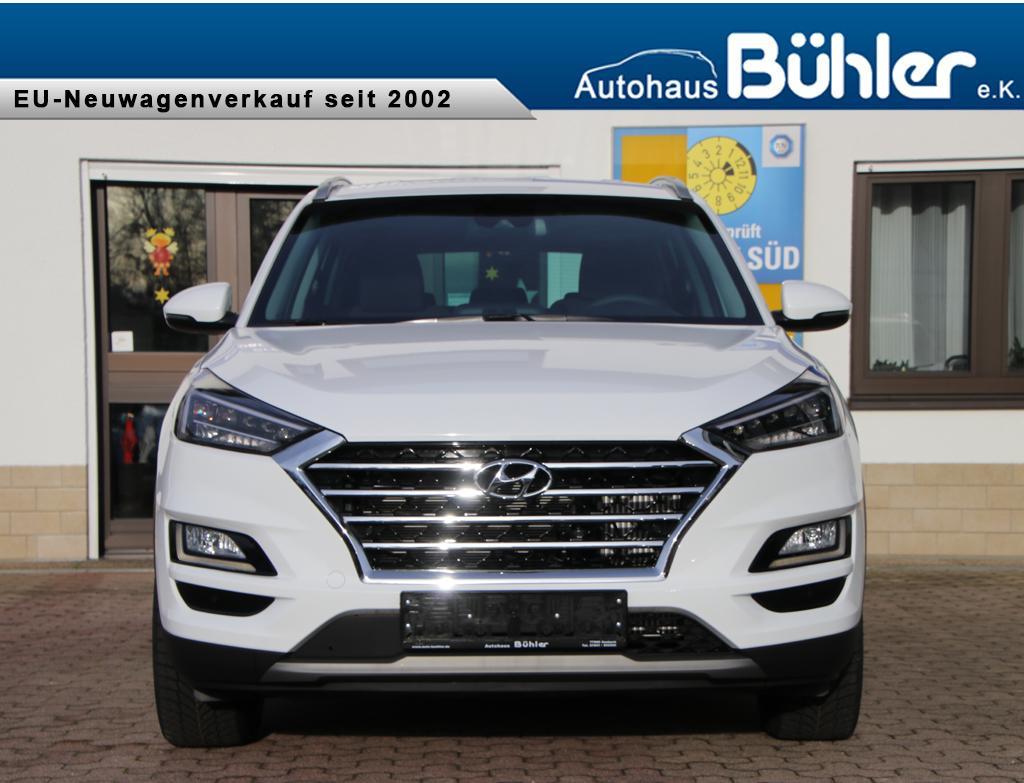 Hyundai Tucson 2.0CRDi Style - Polar White