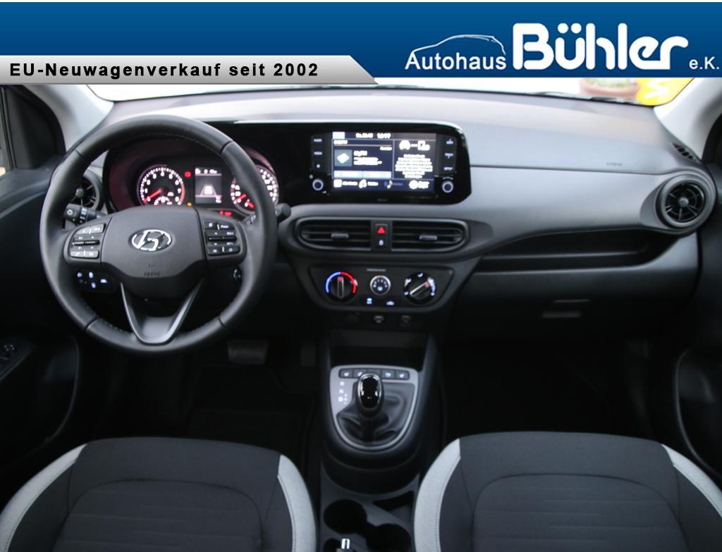 Hyundai i10 1.0 Automatik - Intense Blue Metallic
