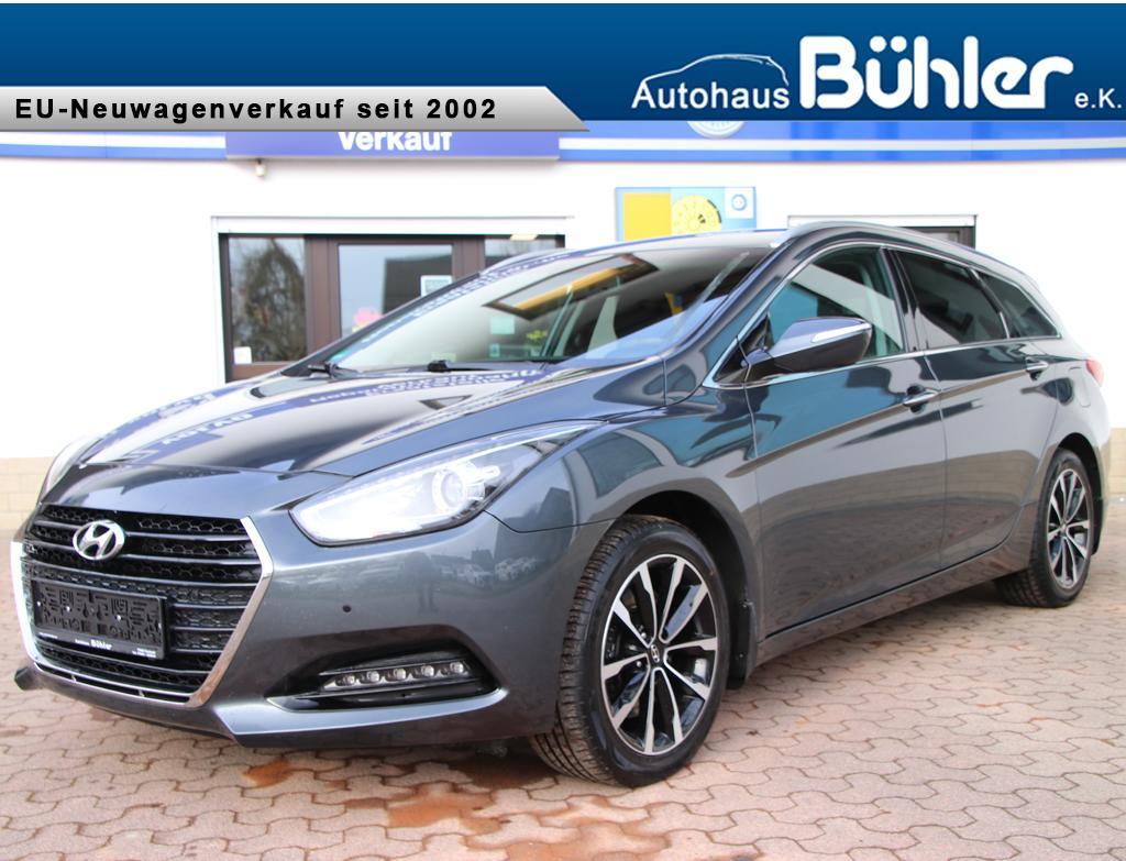 Hyundai i40 Kombi 1.7CRDi DCT-Automatik - stone grey metallic