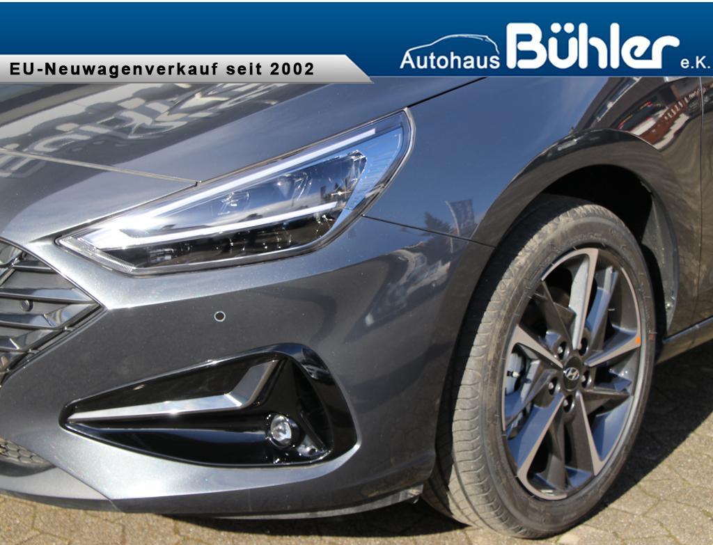 Hyundai i30 Kombi Style - dark knight metallic