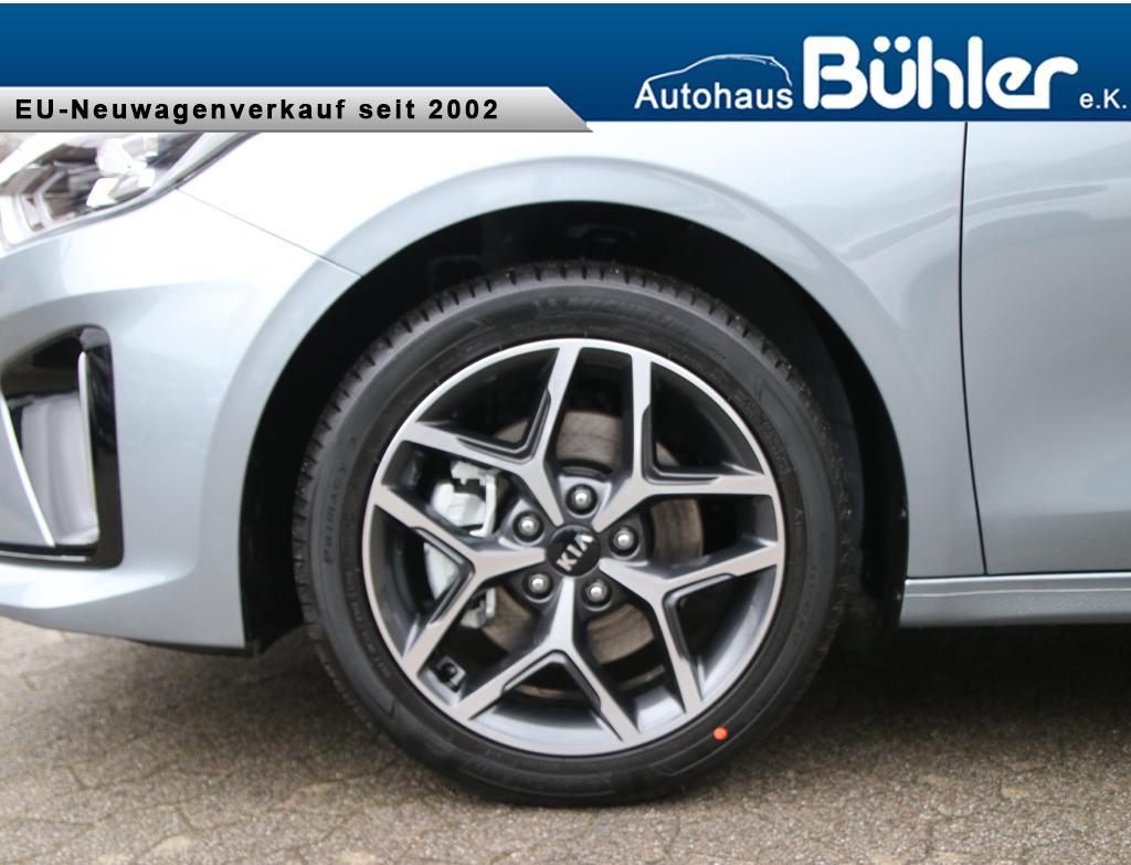 Kia Ceed Sportswagon 1.4 T-GDI GT-Line - Lunarsilber metallic