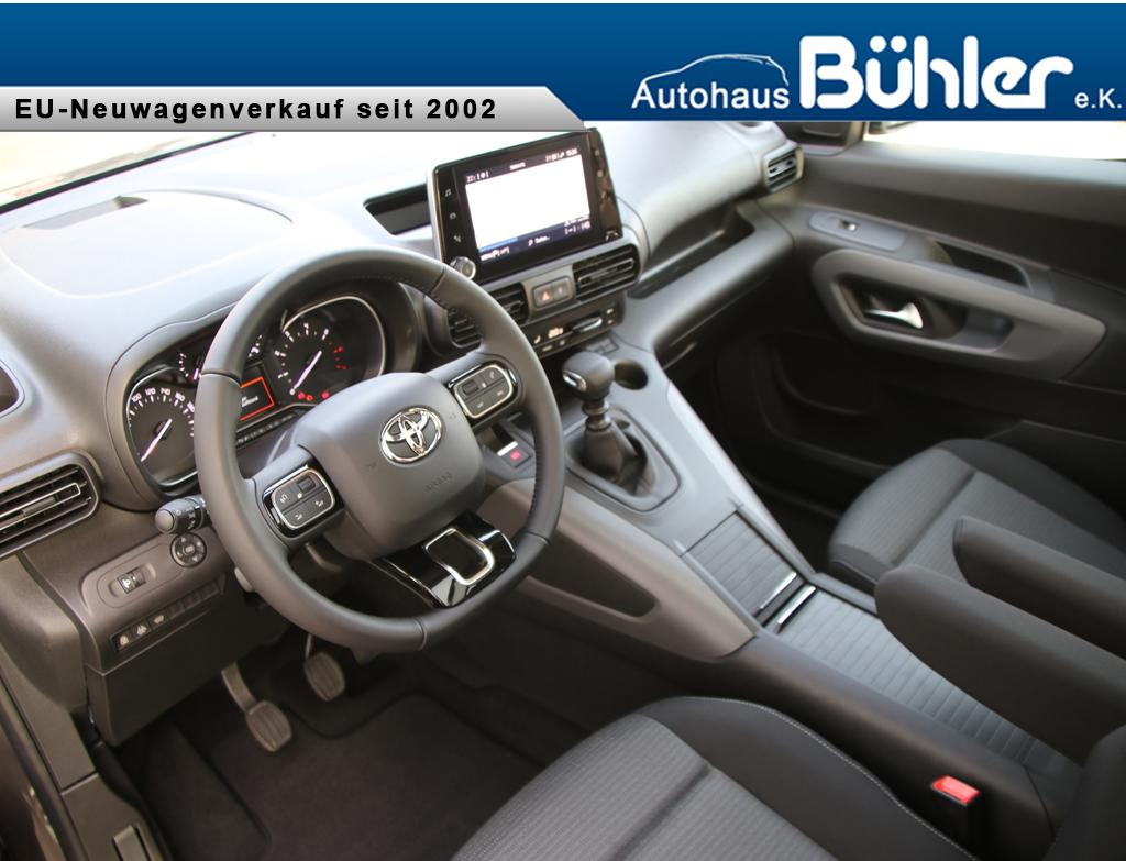 Toyota Proace City Verso 1.2T Executive L1 - basaltgrau metallic