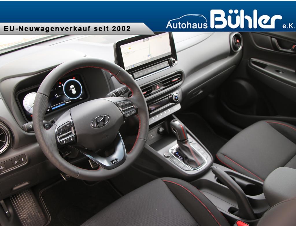 Hyundai Kona 1.6 T-GDI DCT-Aut. N Line - Galactic Grey Metallic