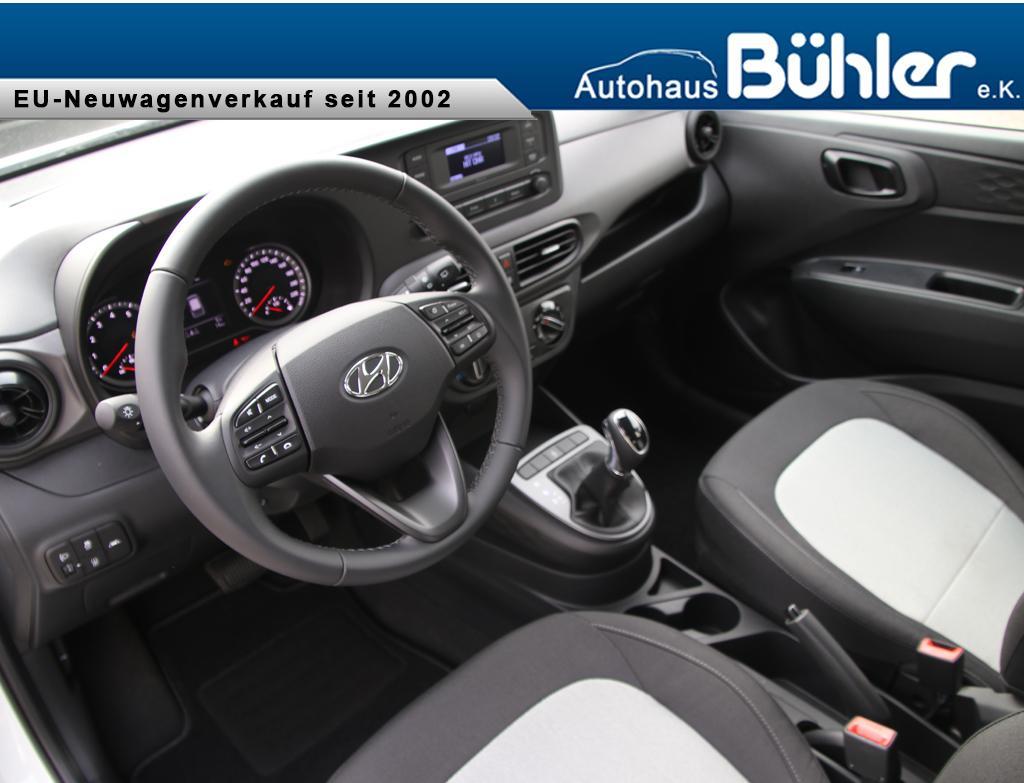Hyundai i10 1.0 Automatik Select - Polar White