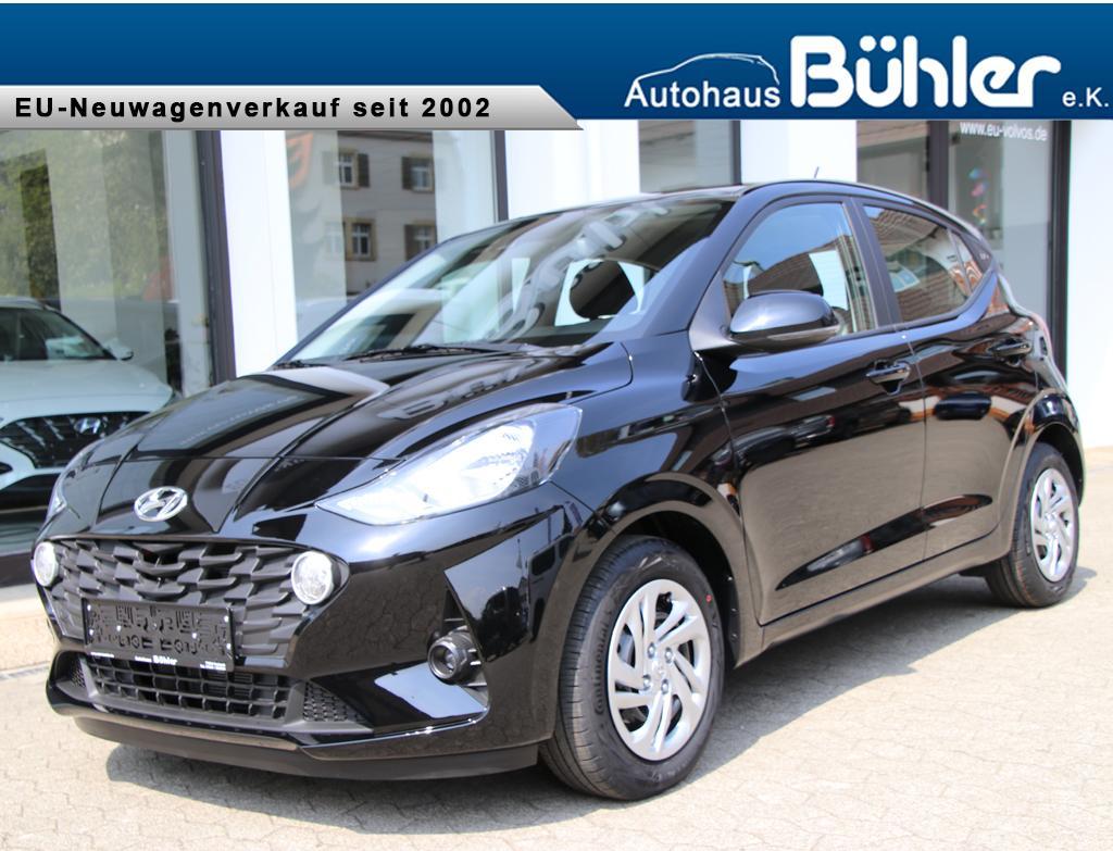 Hyundai i10 1.0 Automatik - Phantom Black Mineraleffekt
