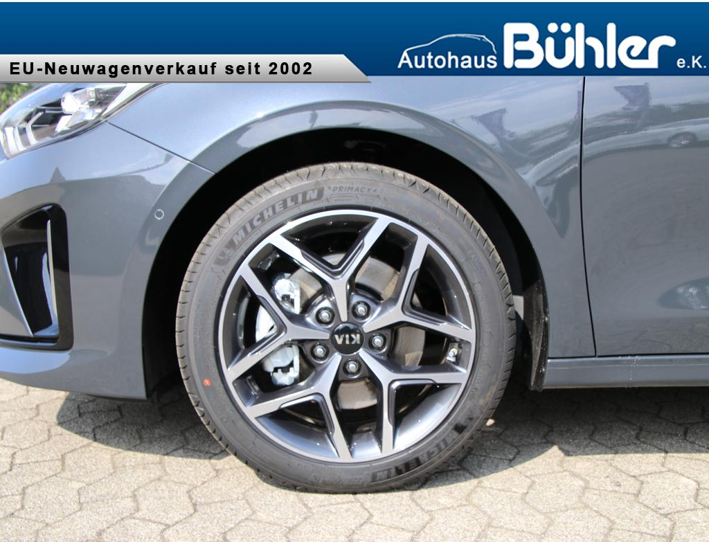 Kia Ceed Sportswagon 1.5 T-GDI DCT GT-Line Parklenkassistent - Pentametall Metallic