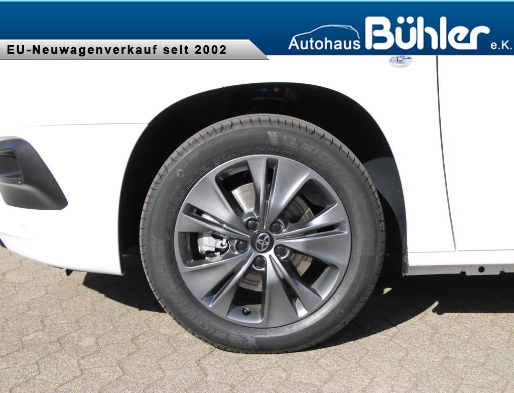 Toyota Proace City Verso 1.5 D4 Executive L2 - Schaumweiß