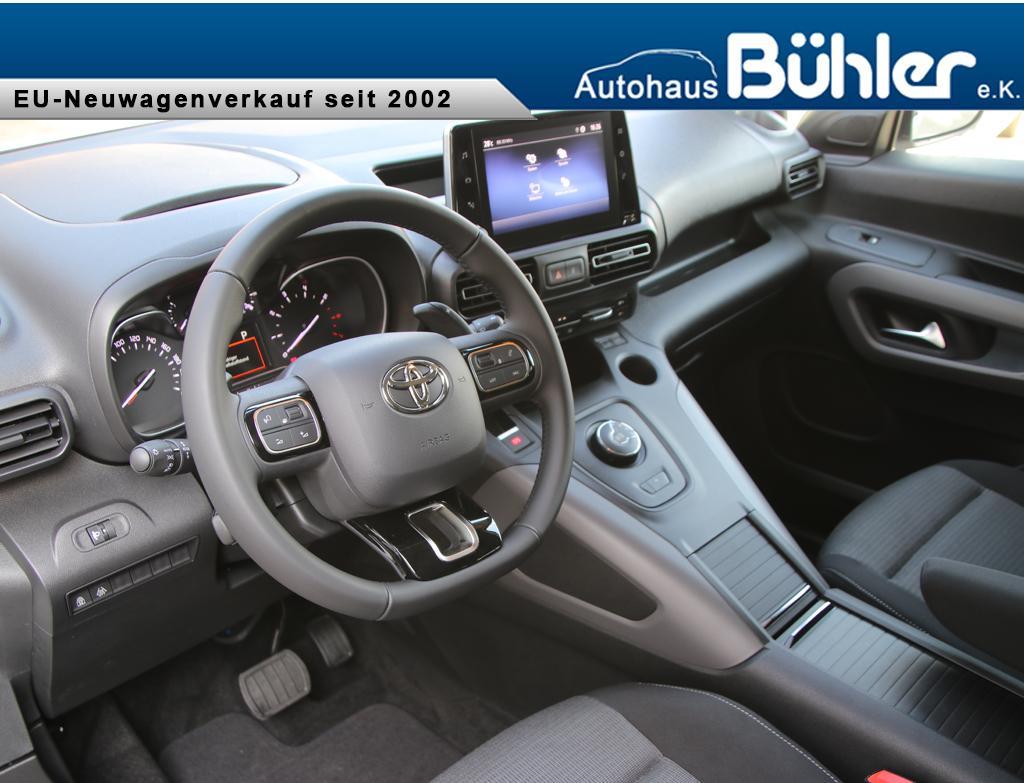 Toyota Proace City Verso Team Deutschland L2 - Interieur
