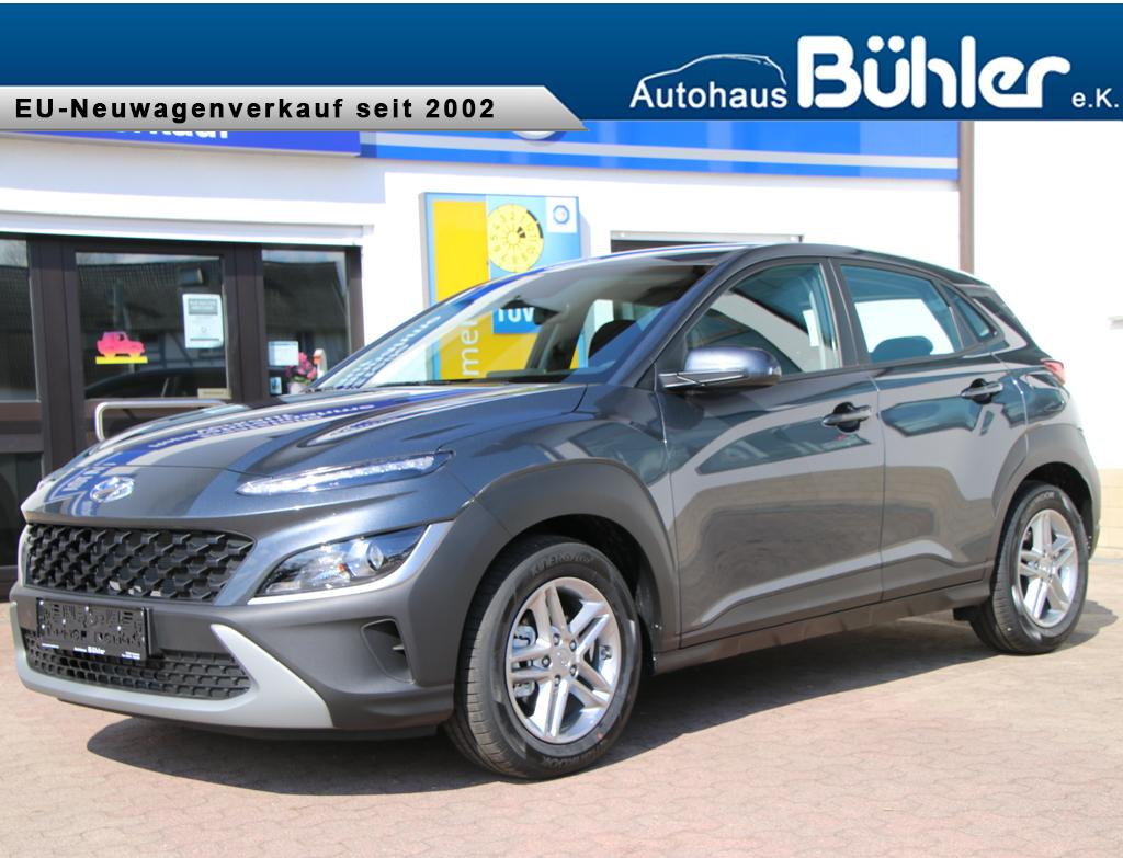 Hyundai Kona 1.0 T-GDI DCT-Automatik - Dark Knight Metallic