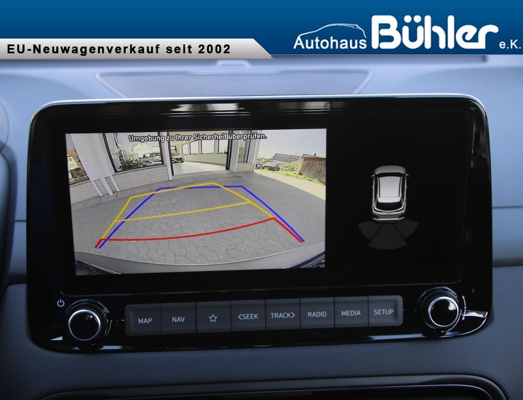Hyundai Kona 1.6 T-GDI DCT-Automatik - Dark Knight Metallic