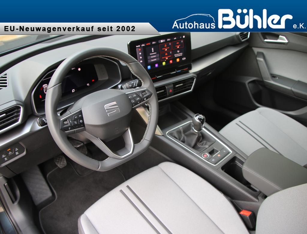 Seat Leon Style 1.5 TSI - magnetic grey metallic