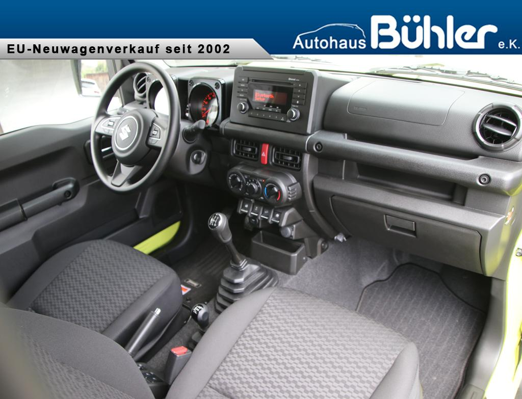 Suzuki Jimny 1.5 ALLGRIP - Kinetic Yellow