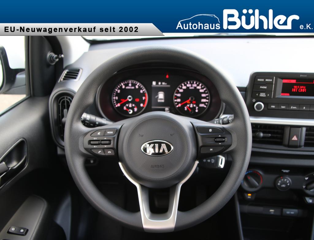 Kia Picanto 1.0 Autom. Schaltgetriebe AMT Edition 7 - Schneeweiß