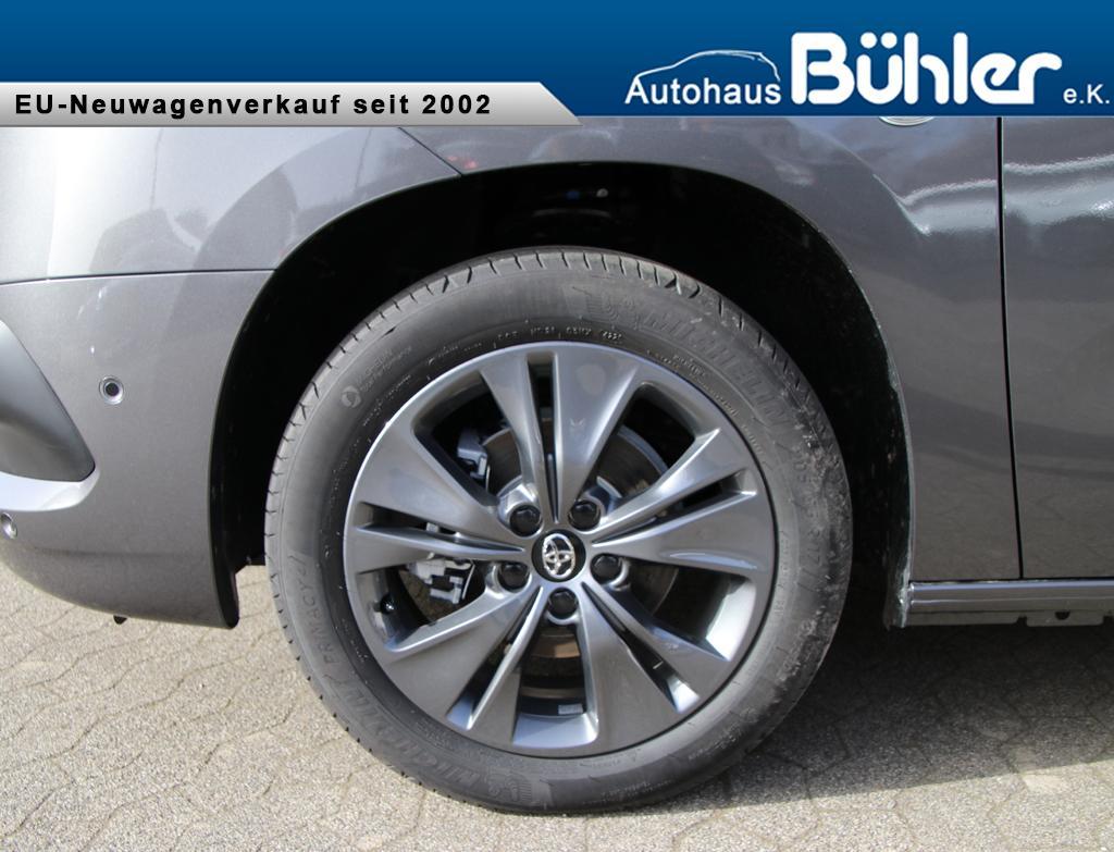 Toyota Proace City Verso Team Deutschland - basaltgrau metallic