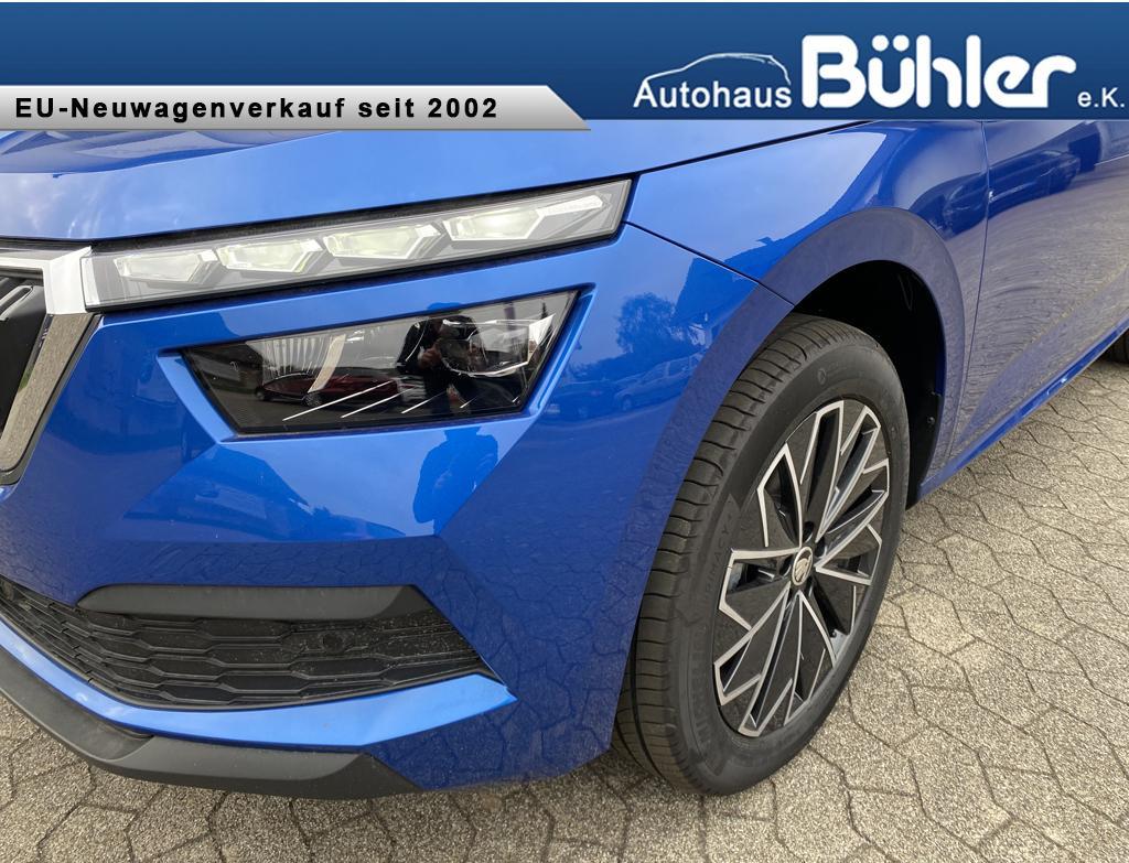 Skoda Kamiq 1.5 TSI Style - Raceblau Metallic
