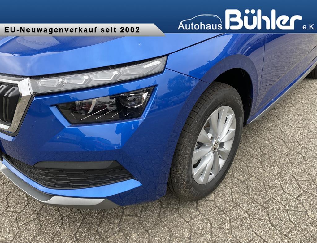 Skoda Kamiq 1.0 TSI Style - Race Blau Metallic