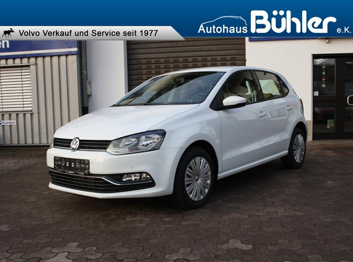 VW Polo 1.2TSI Comfortline pure white