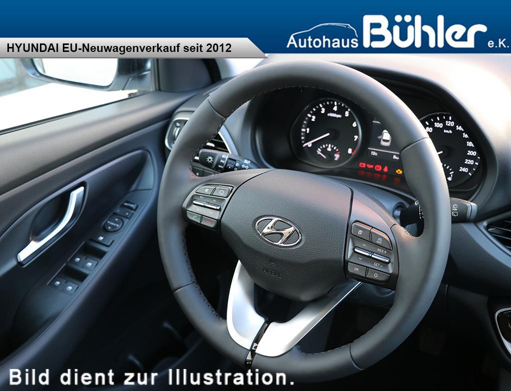 Hyundai i30 neues Modell 2017 - polar white