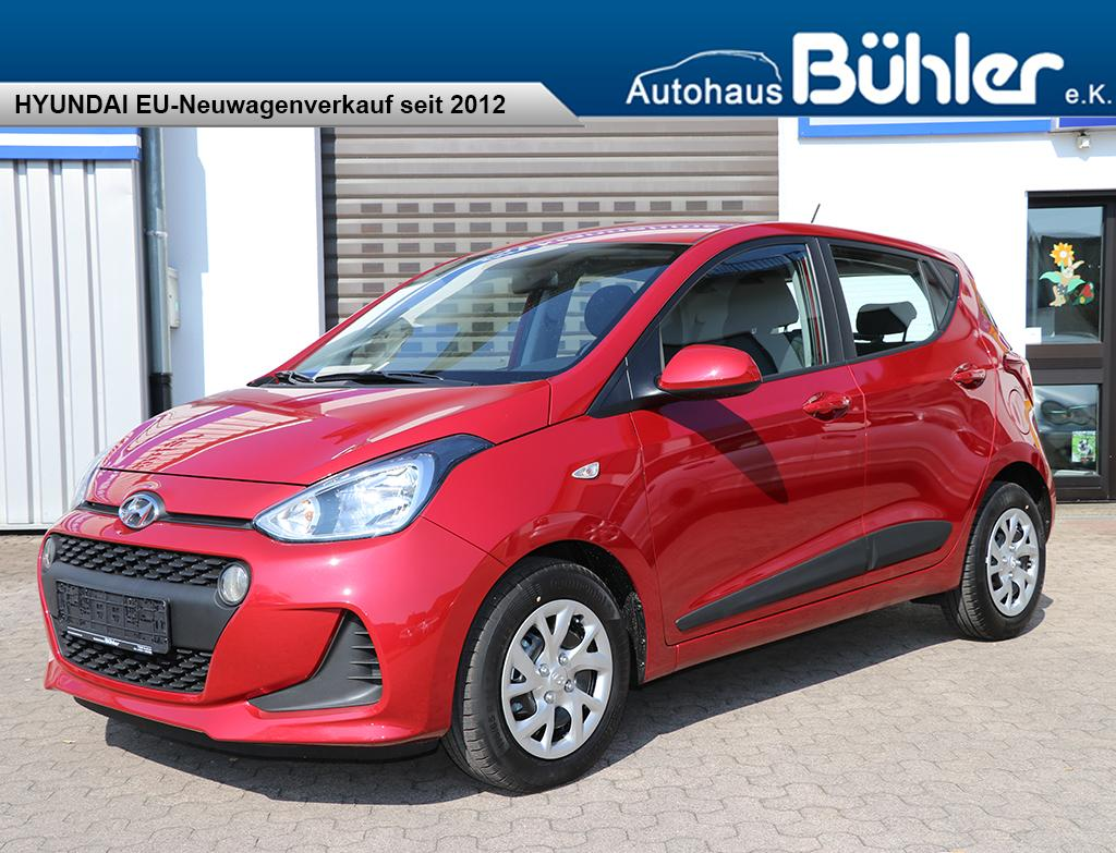 Hyundai i10 Facelift Classic - passion red