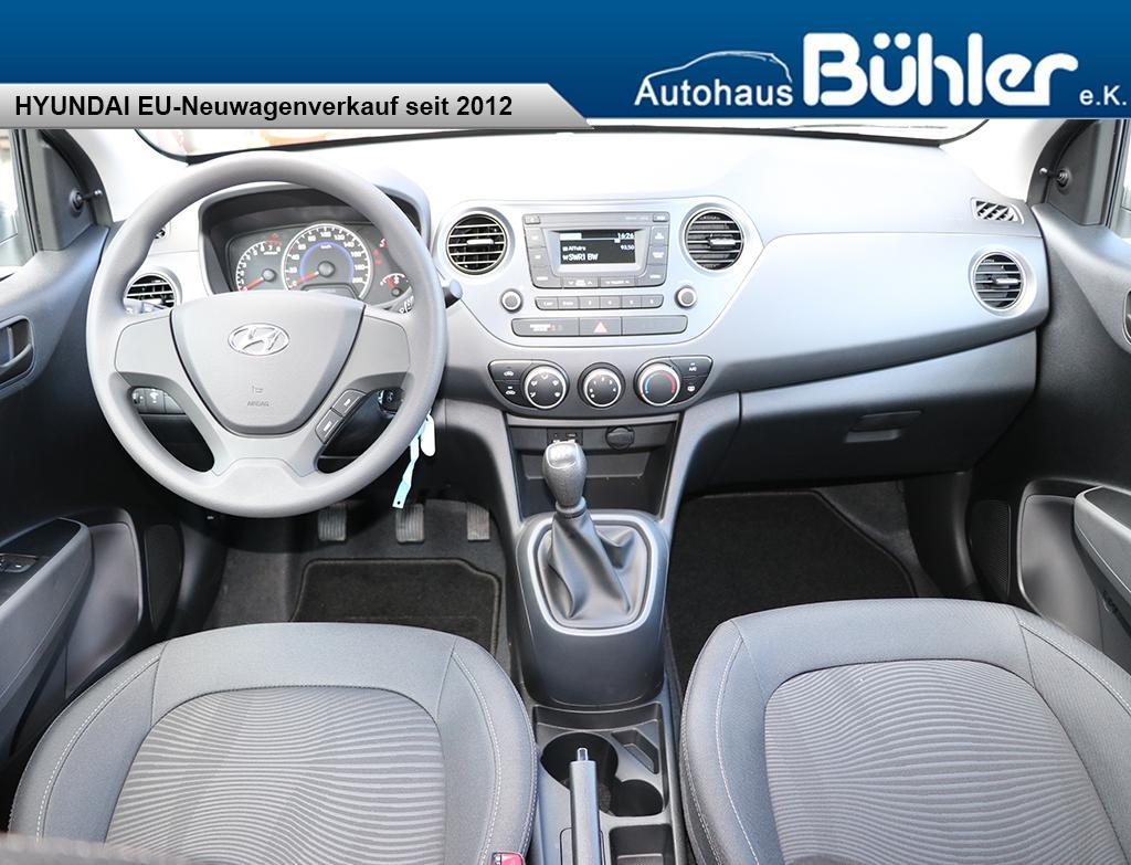 Hyundai i10 2018 Classic+ 1.2 Automatik - Klima, Navi, ZV Funk ...
