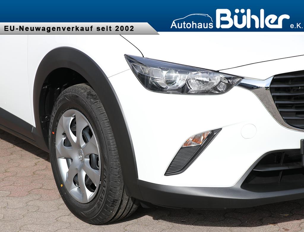 Mazda CX-3 Prime-Line G120 - weiss